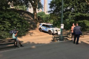 Central Park bombing
